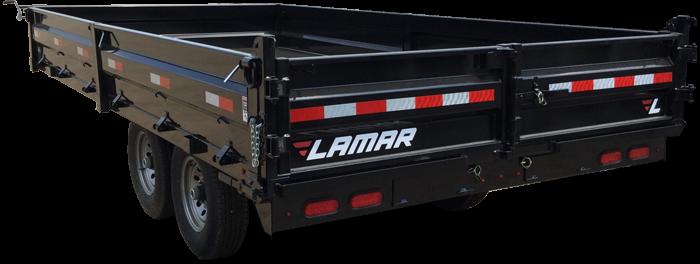 2018 Lamar Trailers GN Deck-Over Dump Trailer