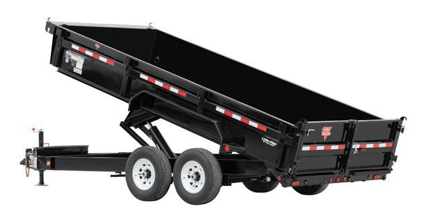 2019 PJ Trailers 83 in. Low Pro XL Dump (DJ) Dump Trailer