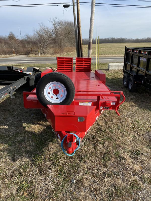 2019 PJ Trailers C8 Equipment Trailer
