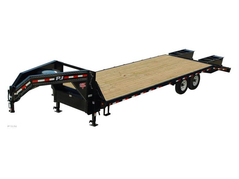 2019 PJ Trailers Classic Flatdeck with Singles (FS) Flatbed Trailer