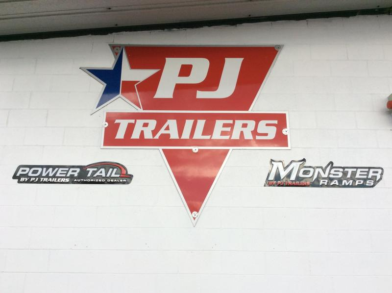 2018 PJ Trailers Commercial Utility Trash Hauler Utility Trailer