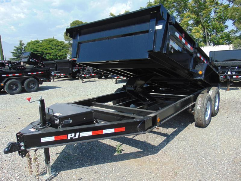 *SPECIAL $7350 CASH* 2019 PJ Trailers Low Pro 83X14 Dump 14K