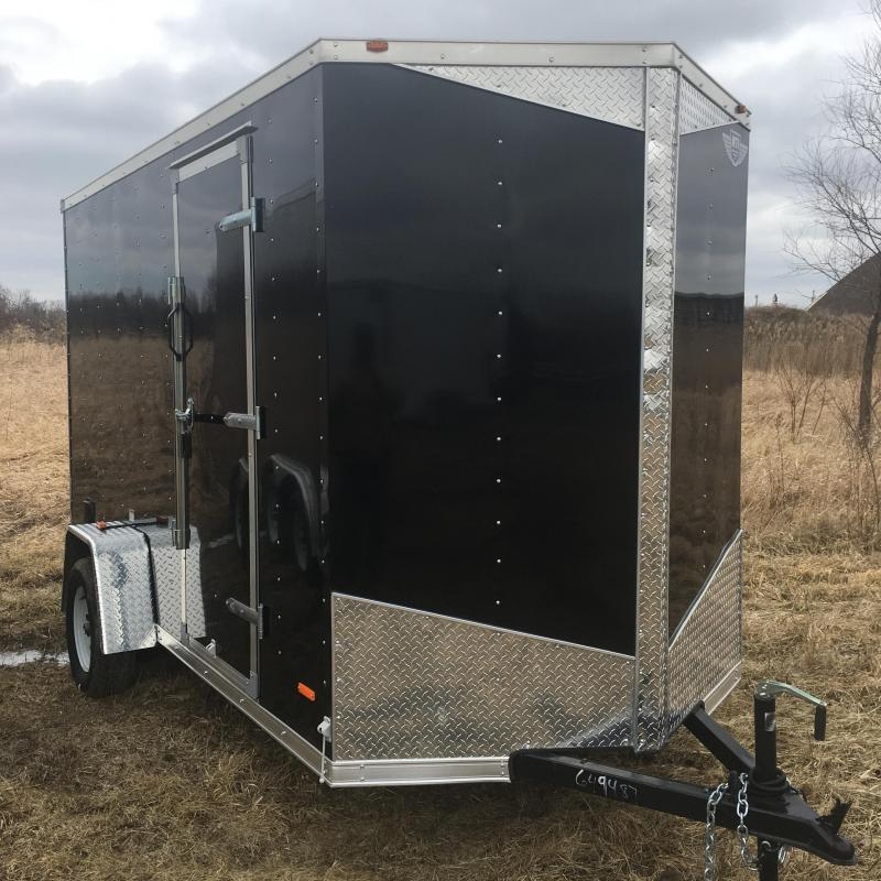 2018 RC Trailers RC5X8VNOSE Enclosed Cargo Trailer
