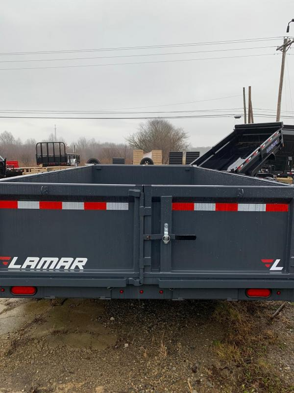 2019 Lamar Trailers Charcoal Gray Dump Trailer