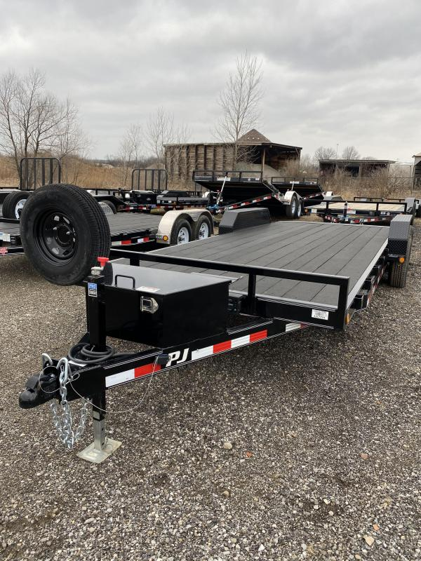 2020 PJ Trailers CE222 Equipment Trailer