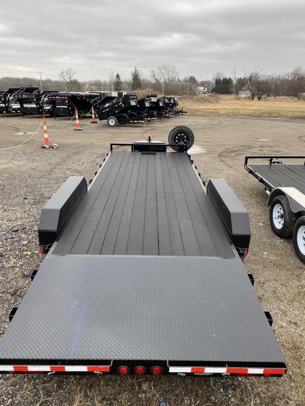 2020 PJ Trailers CE222 Equipment Trailer