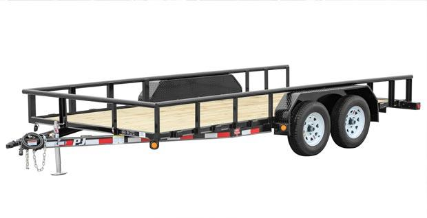 2019 PJ Trailers Angle Pipetop Trailer (P6) Utility Trailer