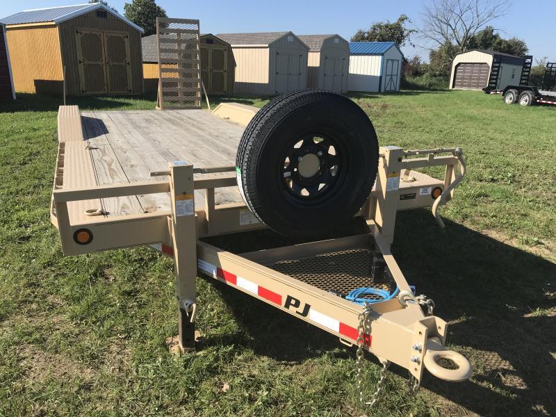 "22' X 102"" PJ Super-Wide Equipment Trailer"