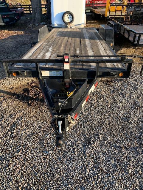 2009 Load Trail 18' Tilt Deck Equipment Trailer