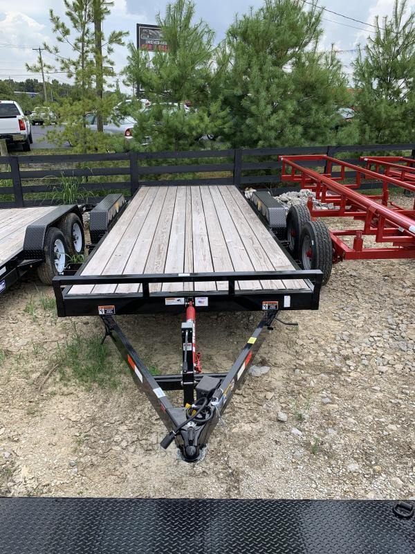 2019 Sure-Trac 20' TILT BED Car / Racing Trailer