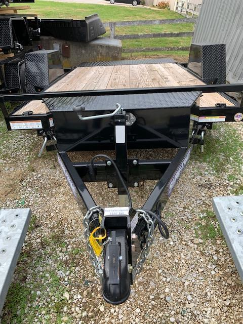 2019 Sure-Trac 78 X 12 Single Axle Tilt Bed Equipment Trailer