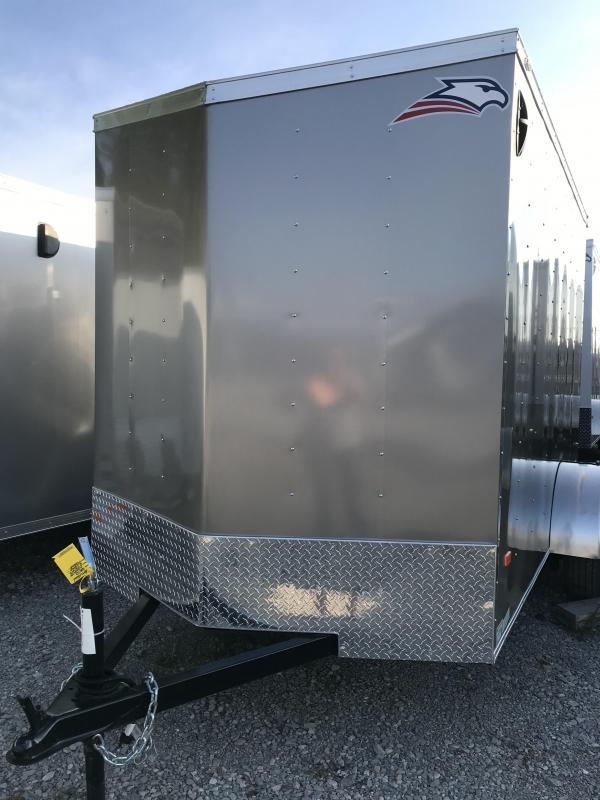 2019 American Hauler Industries 10' Single axle Enclosed Cargo Trailer