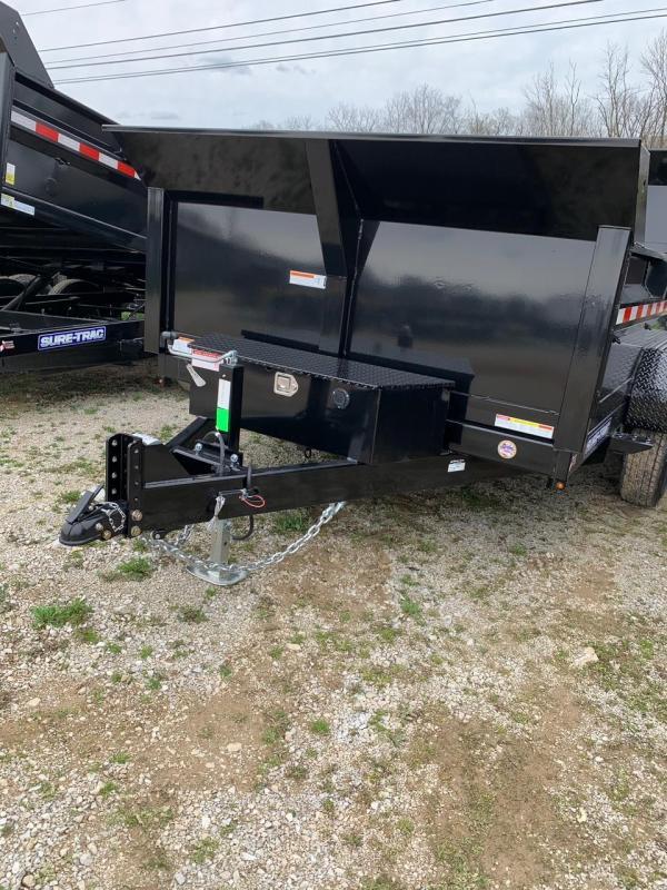 2020 Sure-Trac 82 IN X 12 LProfile Scissor Dump 12K