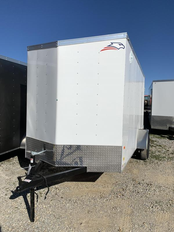 2020 American Hauler Single Axle Enclosed Cargo Trailer
