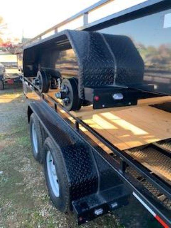2020 Sure-Trac 7 x 16 Steel High Side  7K Tandem