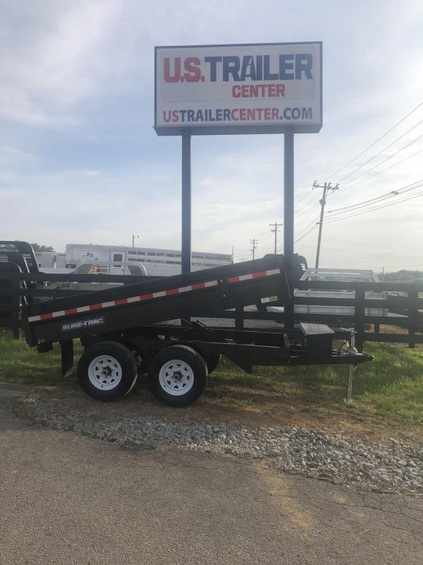 2019 Sure-Trac 72 IN X 10 Deckover Dump 10K Single Ram
