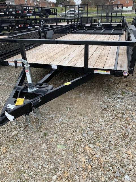 2019 Sure-Trac 7 X 16 Tube Top ATV 7K Tandem