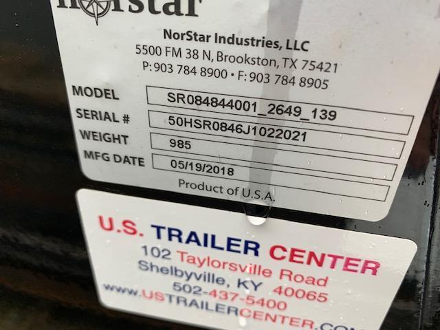 "2019 Norstar SR 84"" X 84"" CTA 40"" Short bed Truck Bed"