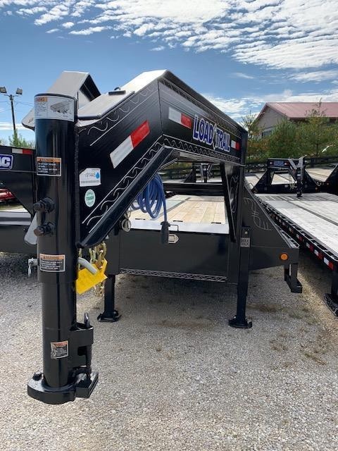 2019 Load Trail 30 Gooseneck Low-Pro with Hyd Dove Flatbed Trailer