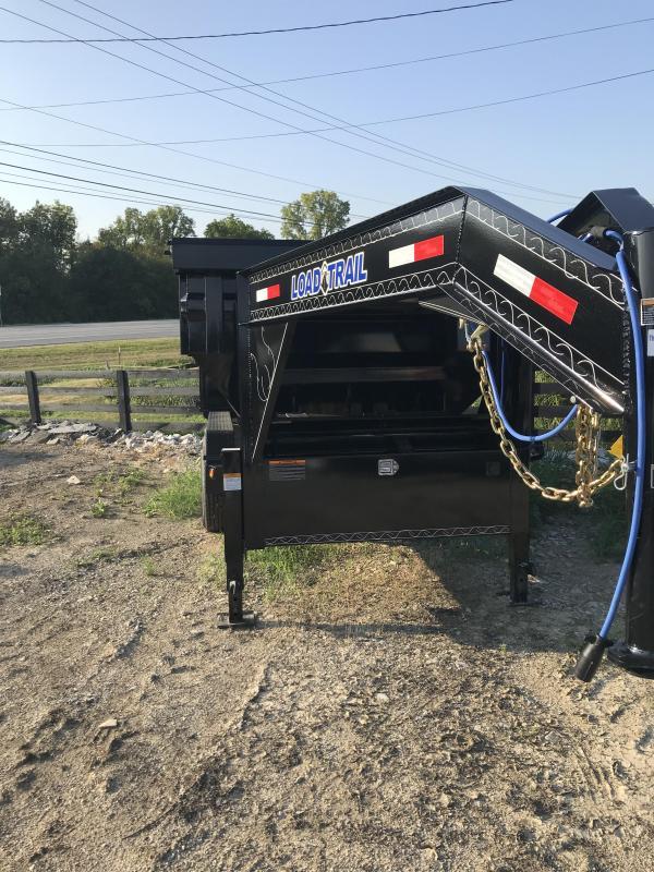 2019 Load Trail 16' Triple Axle Gooseneck Roll off dump box frame