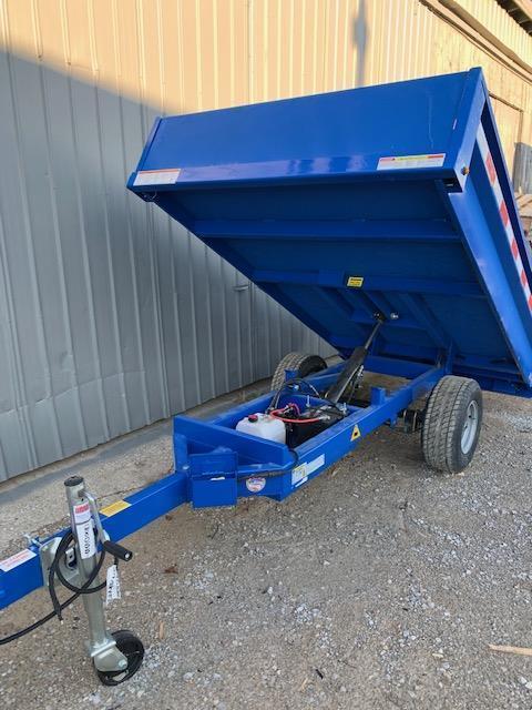 2020 Sure-Trac Utility Dump Trailer