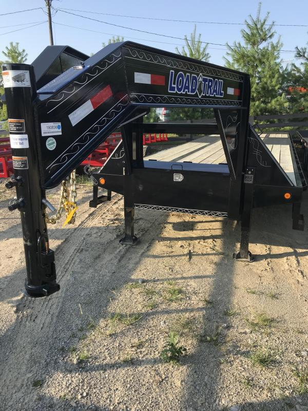 2019 Load Trail 32' HYD DOVETAIL Flatbed Trailer