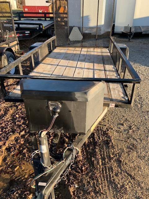 2010 US Cargo Single Axle Utility Trailer