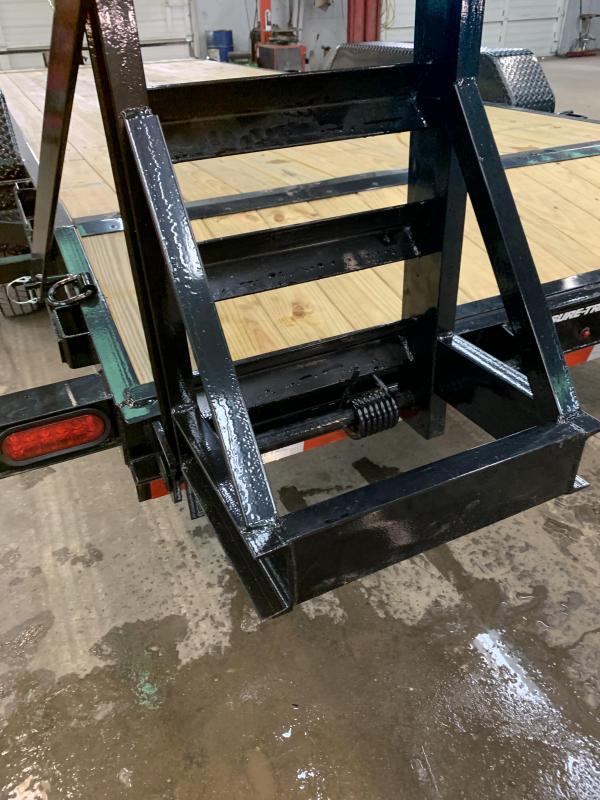 2020 Sure-Trac 7 x 20 Equipment Trailer  14K