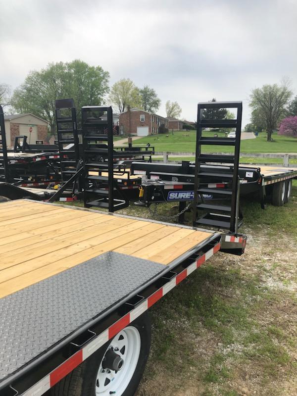 2019 Sure-Trac 8.5 X 17 + 3FT Beavertail Deckover 10k