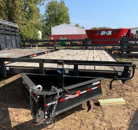 2016 20+5 Heartland Deckover Pintle Equipment Trailer