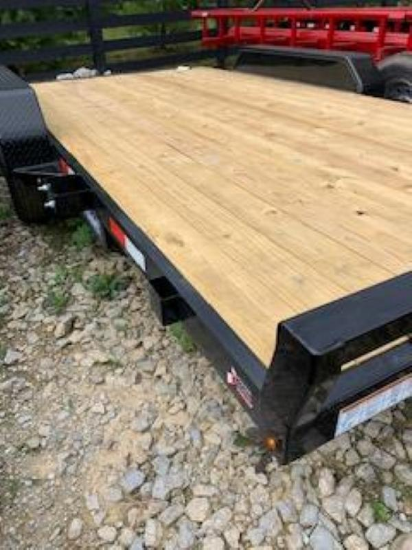2020 Sure-Trac 7 X 16 Wood Deck Car Hauler  7k