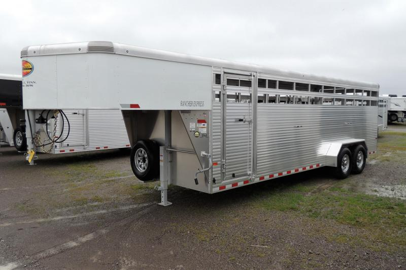 2020 Sundowner Rancher Express 24' Livestock Trailer