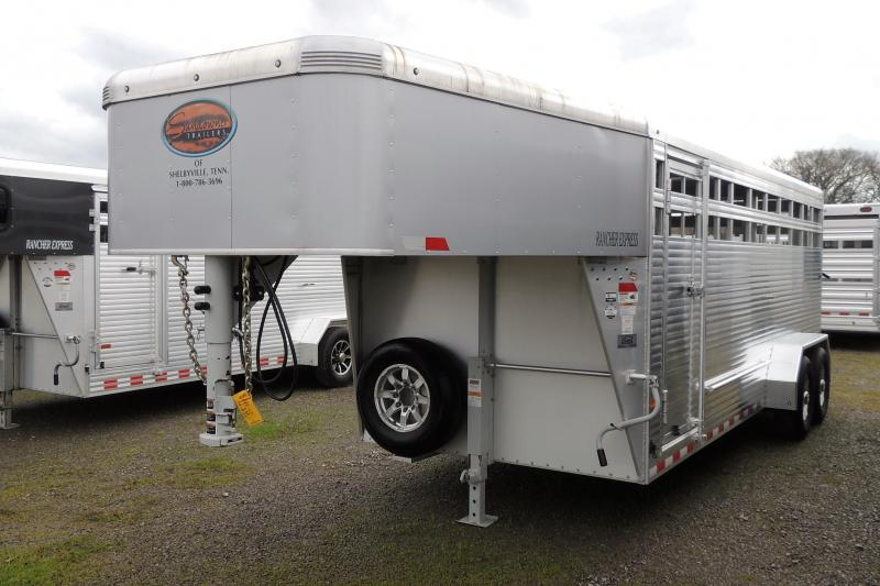 2019 Sundowner Rancher Express 20' DEMO Livestock Trailer