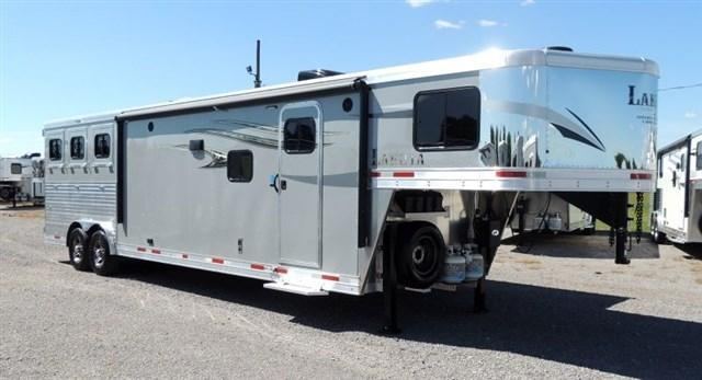 2020 Lakota Charger 8314 Horse Trailer w/ 9' Slide and Center Entertainment