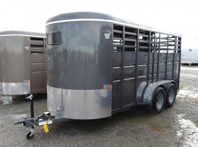 2020 Delta Manufacturing 500 Series 3 Horse Trailer