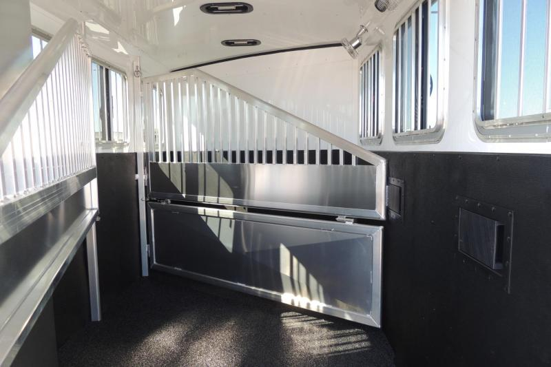 2020 Exiss Trailers 730 BP -- LOADED Show Special Horse Trailer
