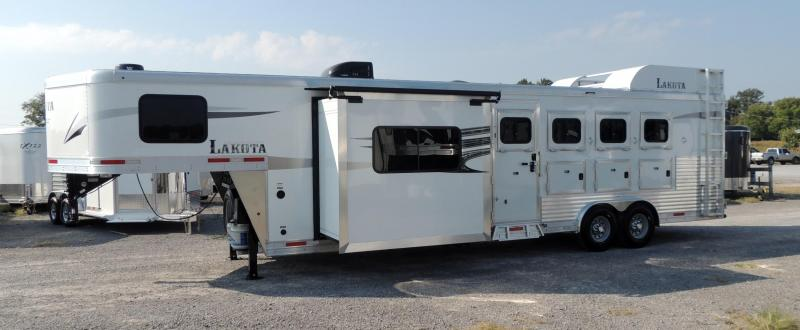 2020 Lakota Charger 8411 Horse Trailer w/ Slide and Hide-a-Bed