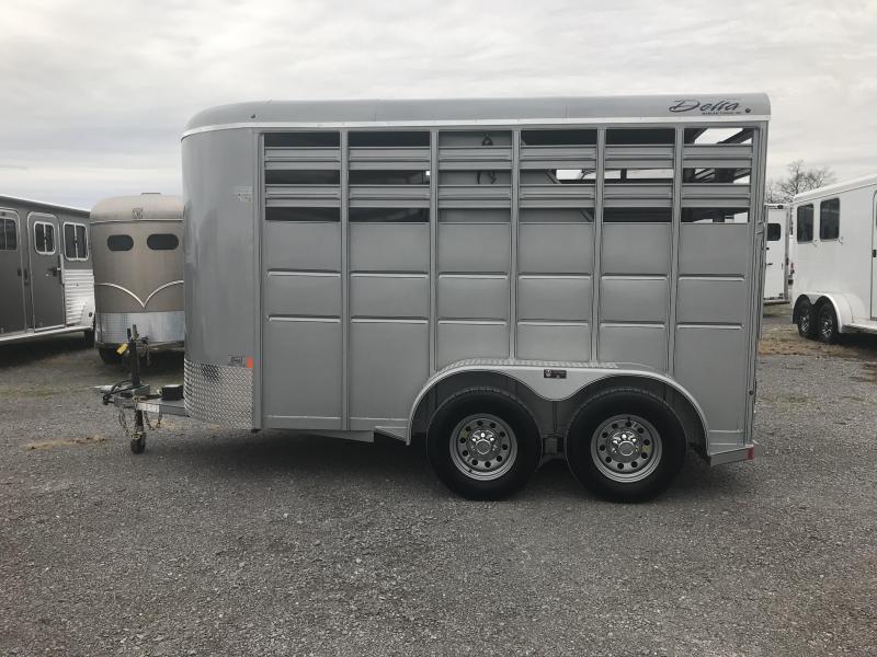 2019 Delta Manufacturing Delta 2 Horse 500 Series Horse Trailer