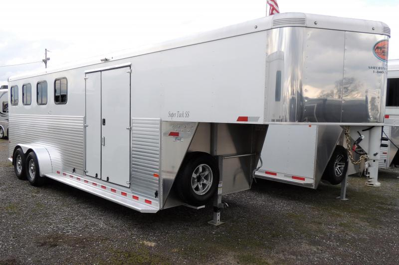 2019 Sundowner Super Tack 4 Horse Trailer