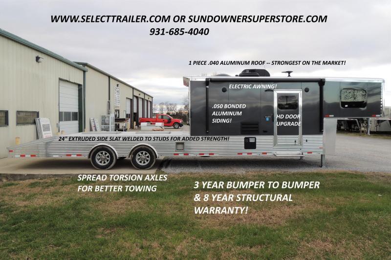 2021 Sundowner Trailers 2286KM Toy Hauler