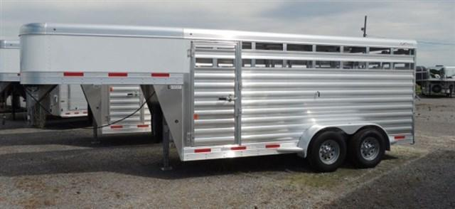 2020 Exiss STK 6816 - 6 ft 8 in. Tall Livestock Trailer