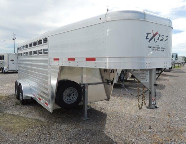 2020 Exiss STK 6816 - 6 ft 8 in. Tall Livestock Trailer