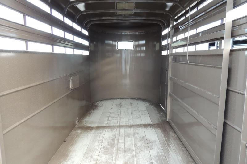 2020 Delta Manufacturing 500 Series 14' x 7' Tall Livestock Trailer