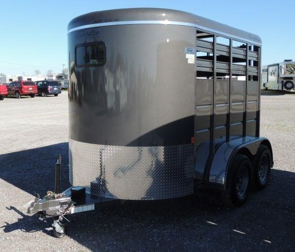 2020 Delta 500 Series 10 x 7 Tall Livestock Trailer