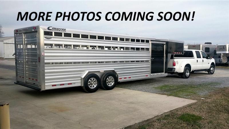 2020 Cimarron Lonestar 24' x 8' Livestock Trailer