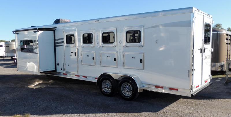 2020 Lakota Charger 409 w/ Slide Mangers Horse Trailer