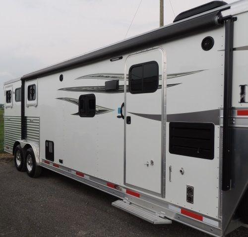 2019 Lakota Charger 8311RK Horse Trailer