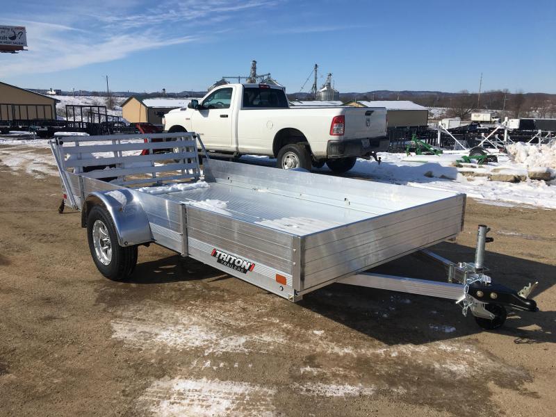 2020 Triton 72X12 Aluminum Utility Trailer
