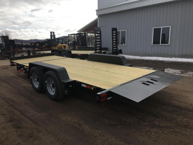2020 B-B 83X22 Tilt Deck Equipment Trailer