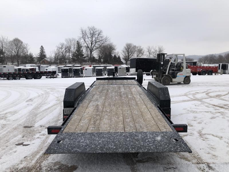 2018 Midsota 83X22 Tilt Deck Equipment Trailer